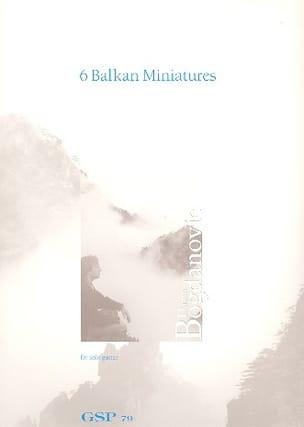 6 Balkan Miniatures Dusan Bogdanovic Partition Guitare - laflutedepan