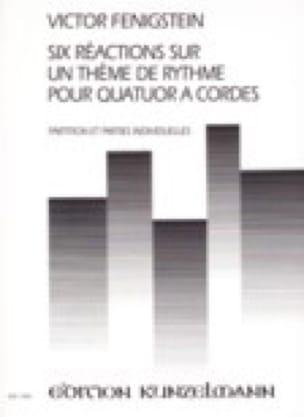 Six Réactions sur un thème de rythme -Partitur + Stimmen - laflutedepan.com