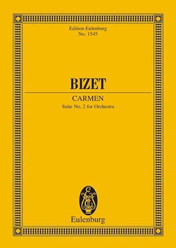 Carmen - Suite N°2 - BIZET - Partition - laflutedepan.com