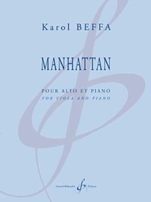Manhattan - Karol Beffa - Partition - Alto - laflutedepan.com