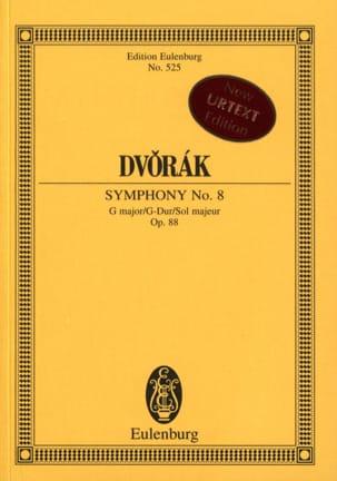 Symphonie N° 8 en Sol Majeur, opus 88 DVORAK Partition laflutedepan