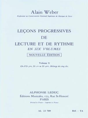Leçons Progressives de Lecture et Rythme Volume 5 laflutedepan