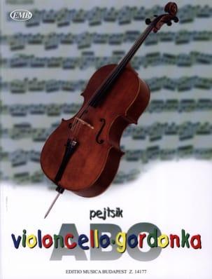 ABC Violoncello Arpad Pejtsik Partition Violoncelle - laflutedepan