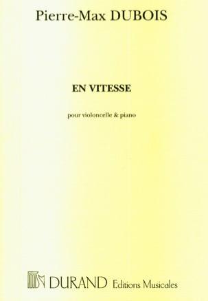 En vitesse Pierre-Max Dubois Partition Violoncelle - laflutedepan