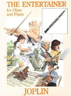 The Entertainer - Oboe piano JOPLIN Partition Hautbois - laflutedepan