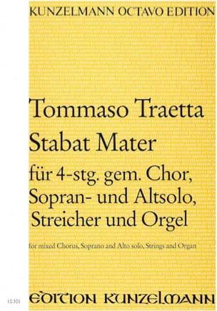 Stabat Mater - Partitur - Tommaso Traetta - laflutedepan.com