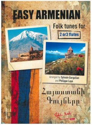 Easy Armenian Folk Tunes Partition Flûte traversière - laflutedepan