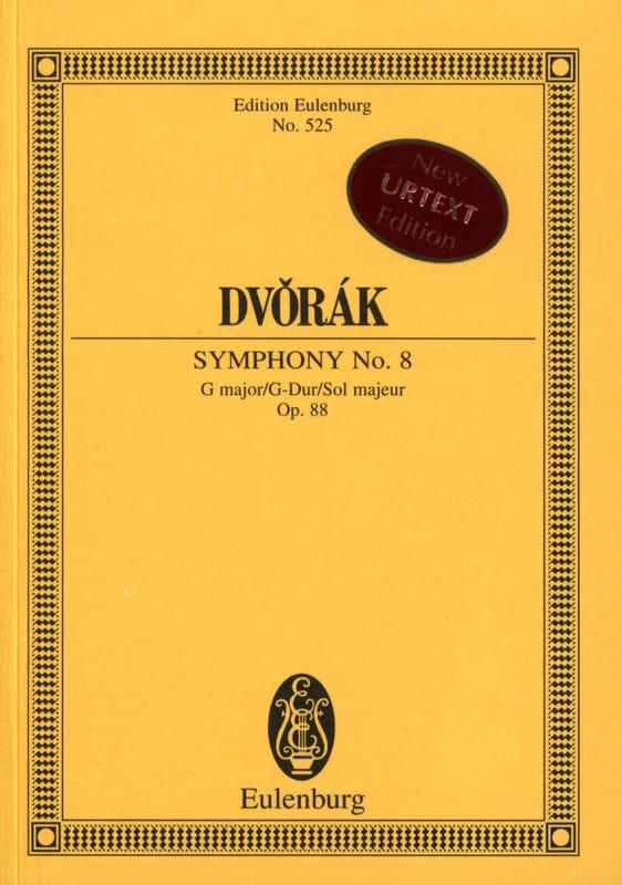 Symphonie N° 8 en Sol Majeur, opus 88 - DVORAK - laflutedepan.com