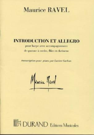 Introduction et Allegro - Harpe et piano - RAVEL - laflutedepan.be