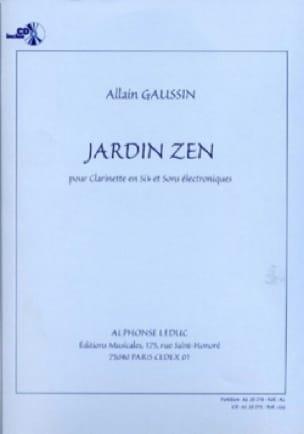 Jardin Zen - Alain Gaussin - Partition - laflutedepan.com