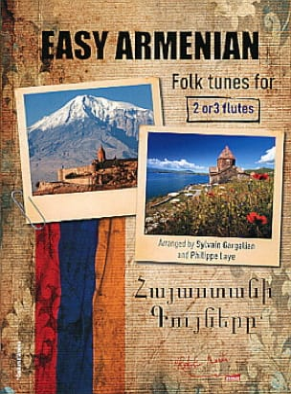 Easy Armenian Folk Tunes - Partition - laflutedepan.com