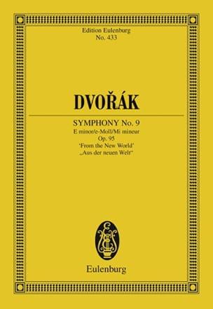 Sinfonie N° 9 E-Moll Mi Min. - Conducteur DVORAK laflutedepan