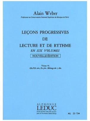 Leçons Progressives de Lecture et Rythme Volume 6 laflutedepan