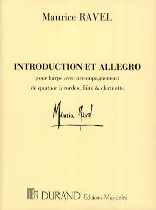 Introduction et Allegro - Parties RAVEL Partition laflutedepan
