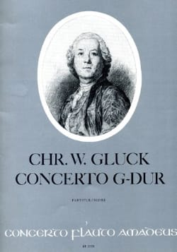 Concerto G-Dur - Flöte und Orchester GLUCK Partition laflutedepan