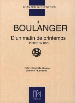 D'un matin de printemps Lili Boulanger Partition Trios - laflutedepan