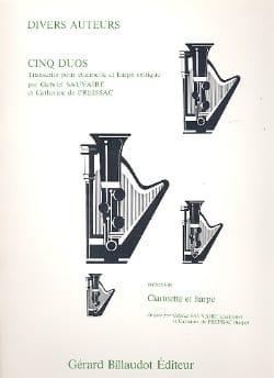 Cinq Duos Partition Duos - laflutedepan