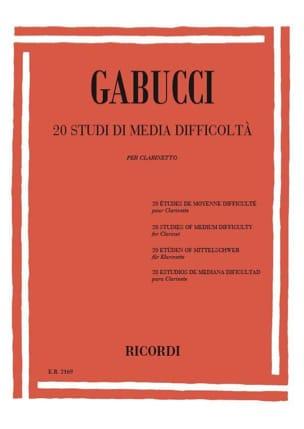 20 Studi di media difficolta Agostino Gabucci Partition laflutedepan