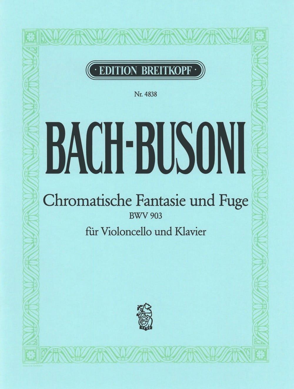 Chromatische Fantasie und Fuge BWV 903 - BACH - laflutedepan.com