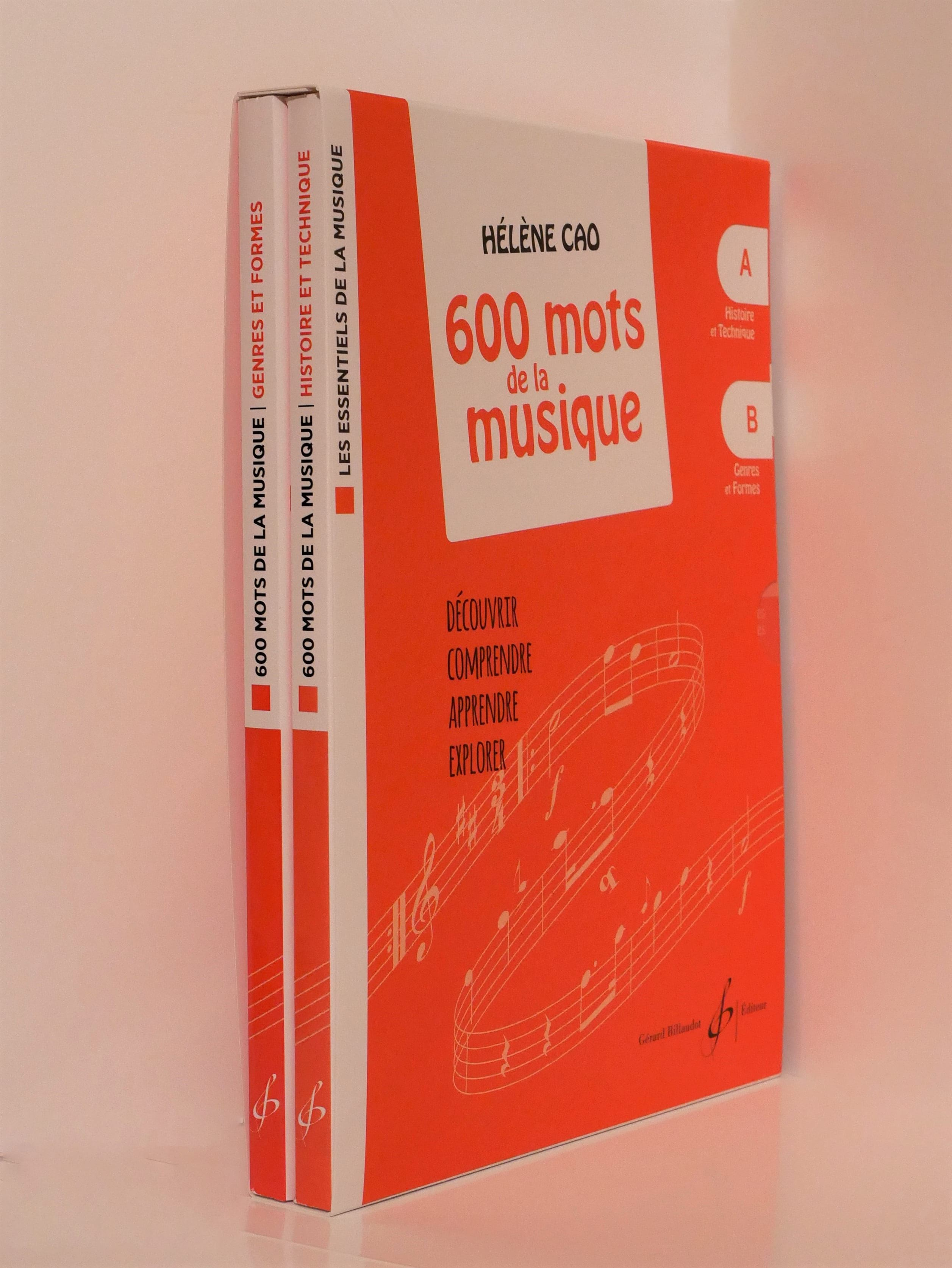 COFFRET - 600 Mots de la Musique - Hélène Cao - laflutedepan.com