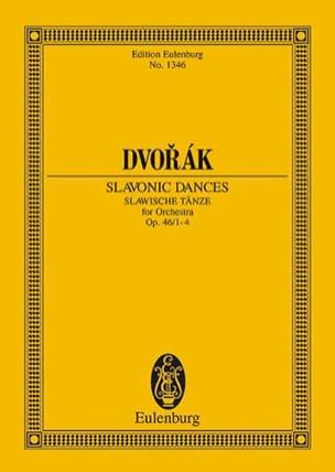 Slawische Tänze, Op. 46 N° 1-4 - Conducteur DVORAK laflutedepan