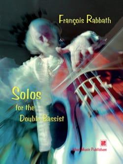 Solos for the Double Bassist François Rabbath Partition laflutedepan