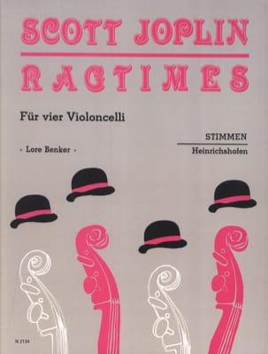 Ragtimes für 4 Violoncelli - Stimmen - JOPLIN - laflutedepan.com