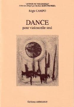 Dance Régis Campo Partition Violoncelle - laflutedepan
