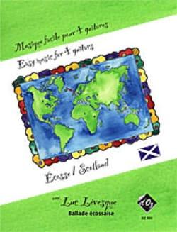 Musique Facile pour 4 Guitares : Écosse Traditionnel laflutedepan