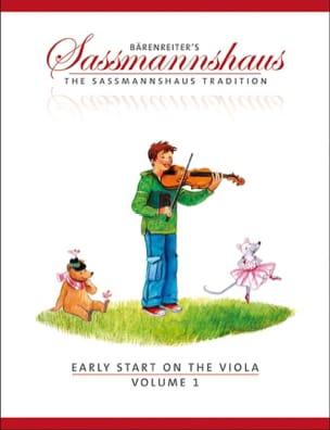 Early Start On The Viola Volume 1 egon sassmannshaus laflutedepan