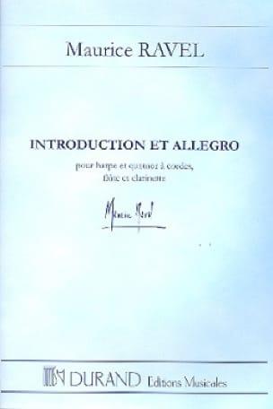 Introduction et Allegro - Conducteur - RAVEL - laflutedepan.com