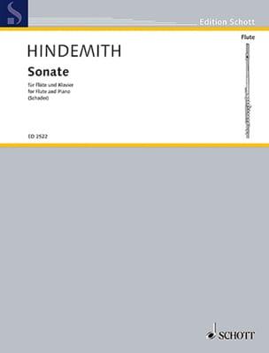 Sonate pour Flûte 1936 HINDEMITH Partition laflutedepan