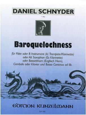 Baroquelochness Daniel Schnyder Partition laflutedepan