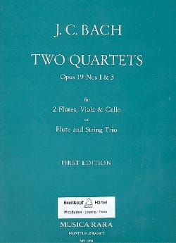 2 Quartets op. 19 n° 1 & 3 -2 flutes viola cello laflutedepan
