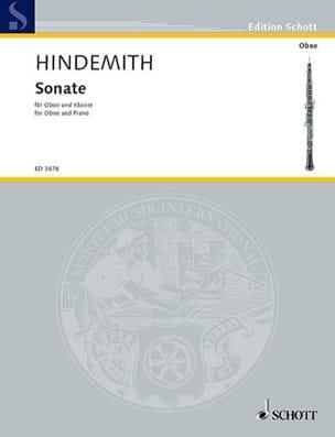 Sonate 1938 HINDEMITH Partition Hautbois - laflutedepan