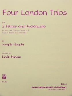 4 London Trios HAYDN Partition Trios - laflutedepan