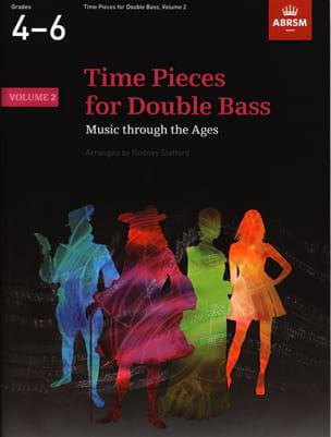 Time Pieces for Double Bass Vol. 2 - laflutedepan.com