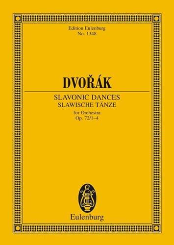 Slawische Tänze, op. 72/1-4 B 147 - DVORAK - laflutedepan.com
