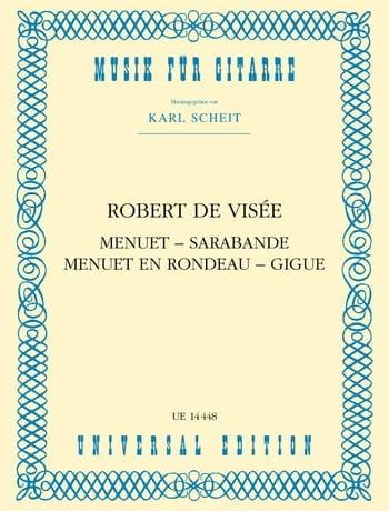 Menuet - Sarabande - Menuet en Rondeau - Gigue - laflutedepan.com