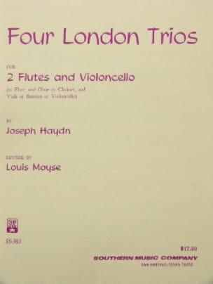 4 London Trios - HAYDN - Partition - Trios - laflutedepan.com
