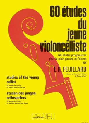 60 Etudes du jeune Violoncelliste FEUILLARD Partition laflutedepan