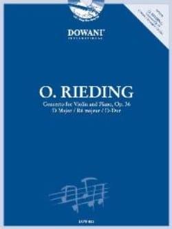 Concerto op. 36 en ré majeur Oskar Rieding Partition laflutedepan