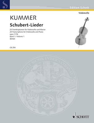 Schubert Lieder, op. 117b - Volume 1 laflutedepan