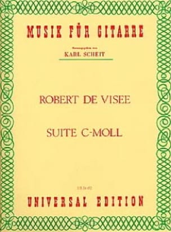 Suite c-moll - Robert de Visée - Partition - laflutedepan.com