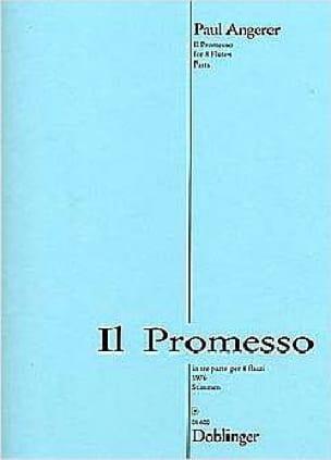 Il Promesso - 8 Flöten - Stimmen - Paul Angerer - laflutedepan.com