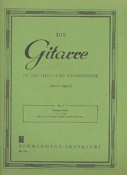 Trio für Flöte Violine, Viola und Gitarre op. 45 laflutedepan