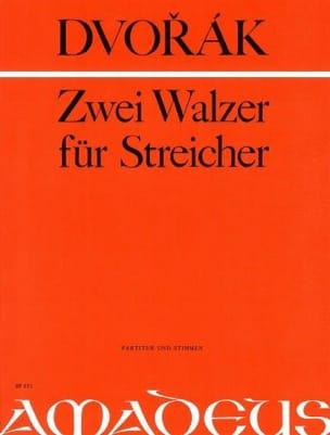 2 Walzer für Streicher -Partitur + Stimmen DVORAK laflutedepan