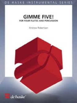 Gimme Five ! Andrew Robertson Partition laflutedepan