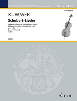 Schubert Lieder, op. 117b - Volume 2 laflutedepan