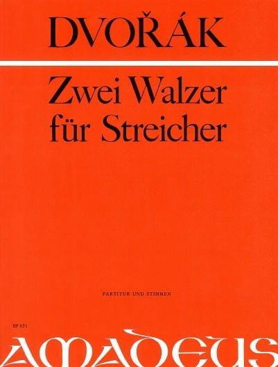 2 Walzer für Streicher -Partitur + Stimmen - laflutedepan.com